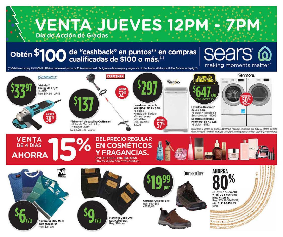 Shopper Sears Black Friday 2019