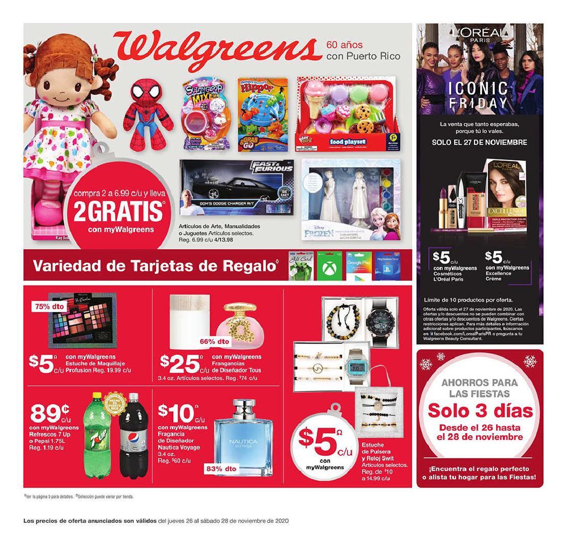 Shopper Walgreens Black Friday 2020
