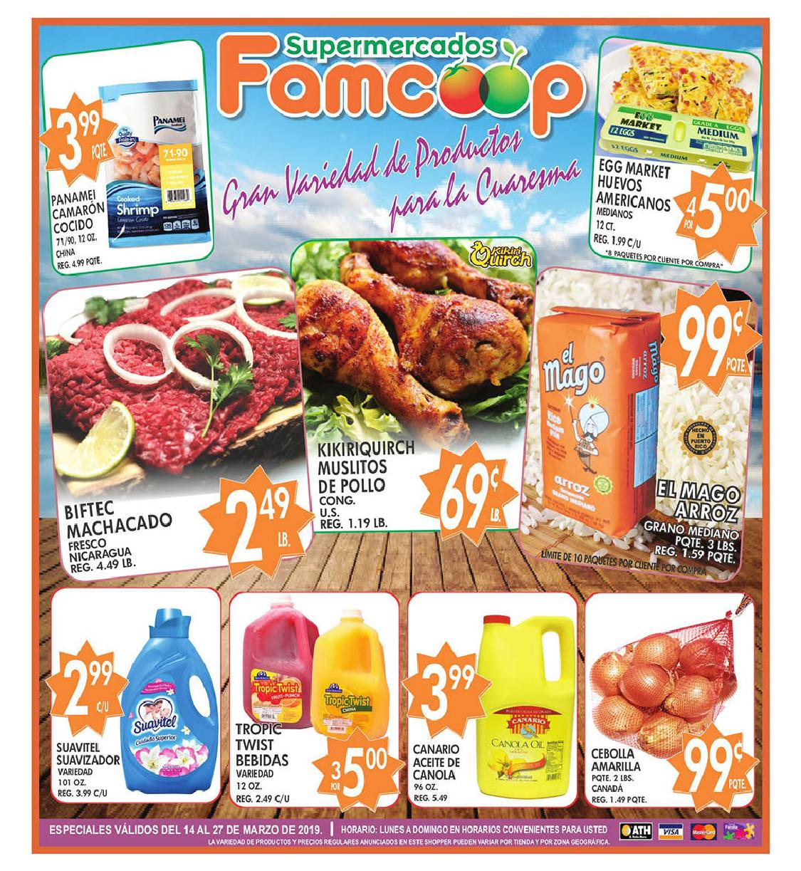 Shopper Fam Coop 14 de Marzo al 27 de Marzo de 2019
