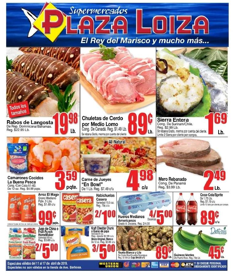 Shopper Plaza Loiza 11 de Abril al 17 de Abril de 2019