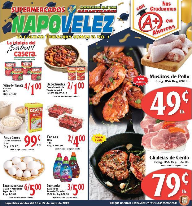 Shopper Napo Velez 16 de Mayo al 29 de Mayo de 2019