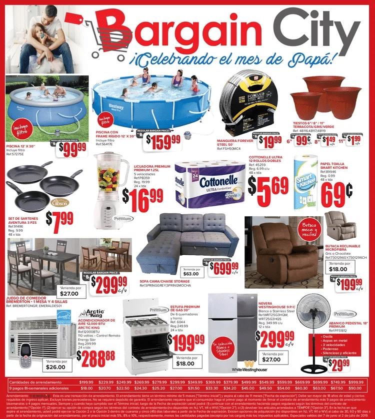 Shopper Bargain City 7 de Junio al 2 de Julio de 2019