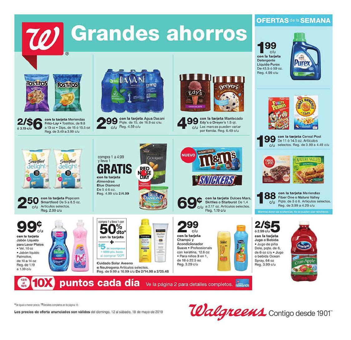 Shopper de Walgreens 12 de Mayo al 18 de Mayo de 2019