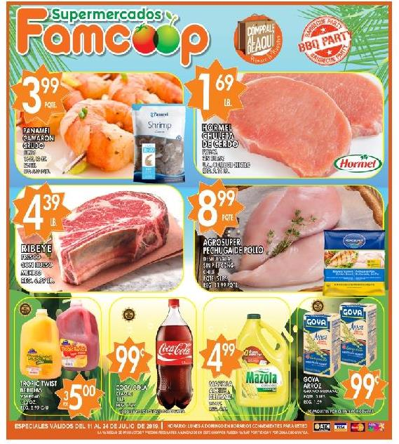 Shopper Fam Coop 11 de Julio al 24 de Julio de 2019