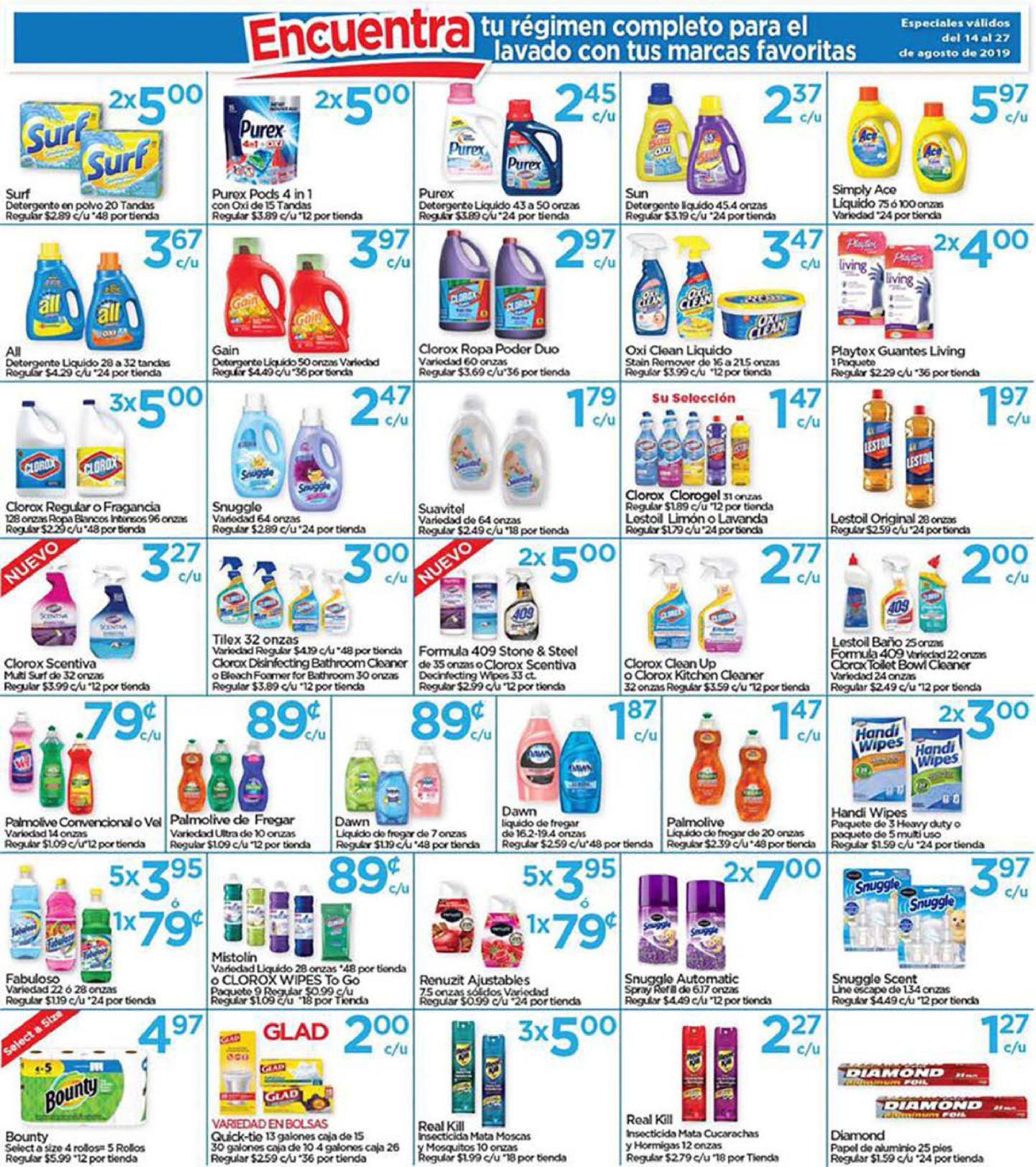 Shopper Capri 14 de Agosto al 27 de Agosto de 2019