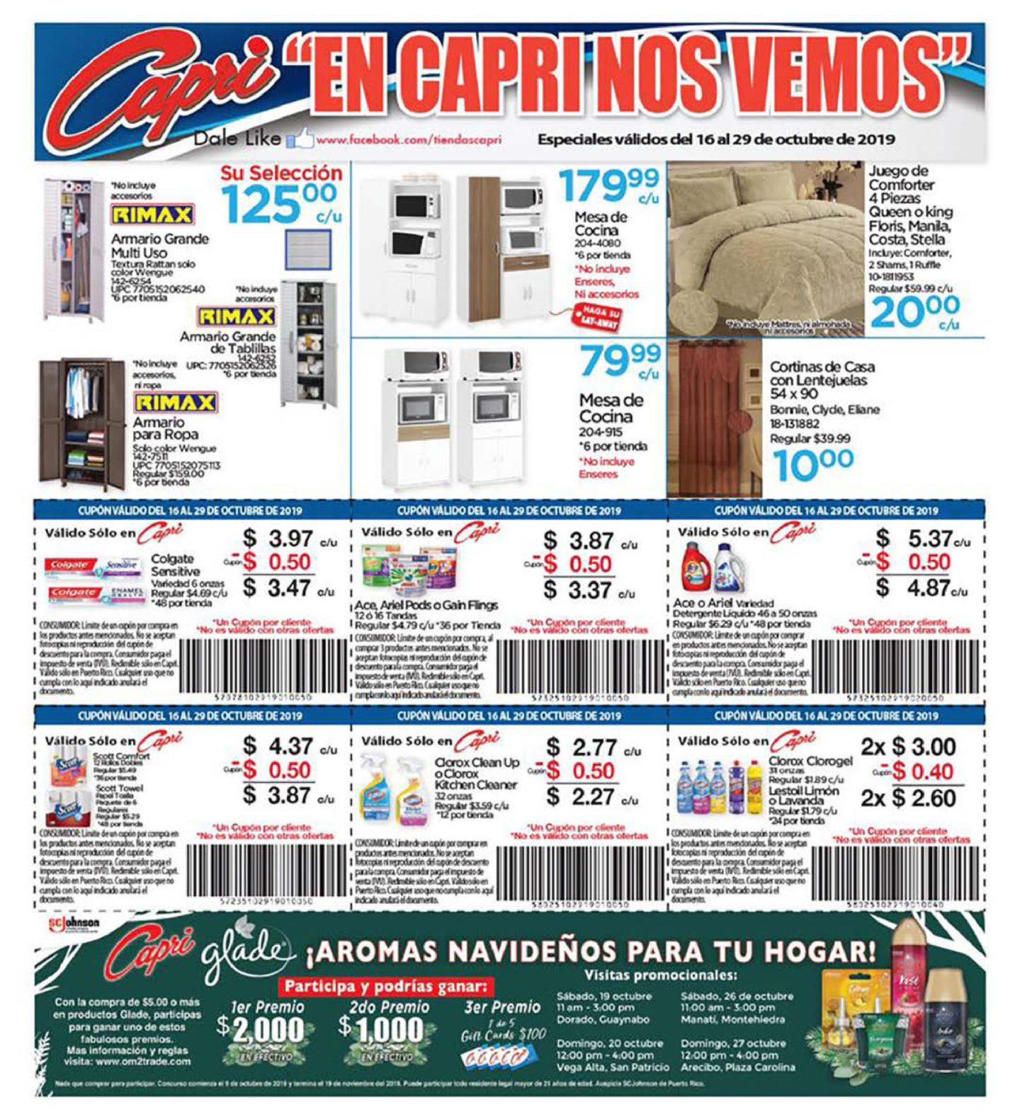 Shopper Capri 16 de Octubre al 29 de Octubre de 2019