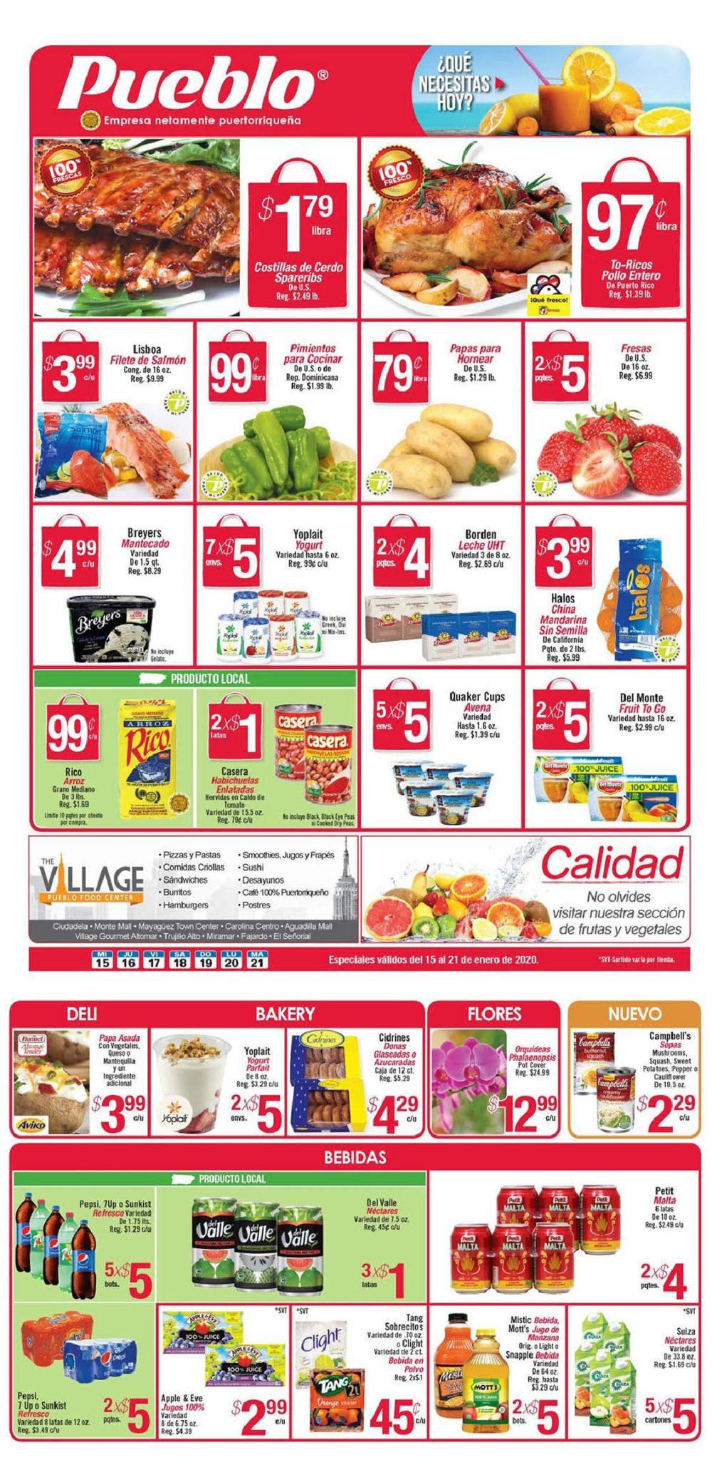 Shopper Pueblo 15 de Enero al 21 de Enero de 2020