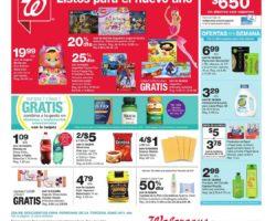 Shopper de Walgreens 5 de Enero al 11 de Enero de 2020