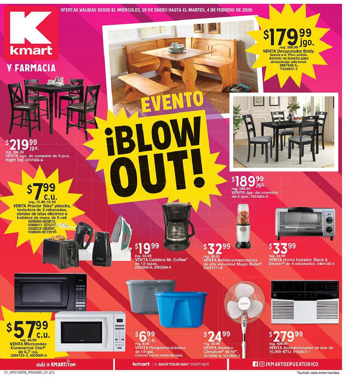 Shopper Kmart 29 de Enero al 4 de Febrero de 2020