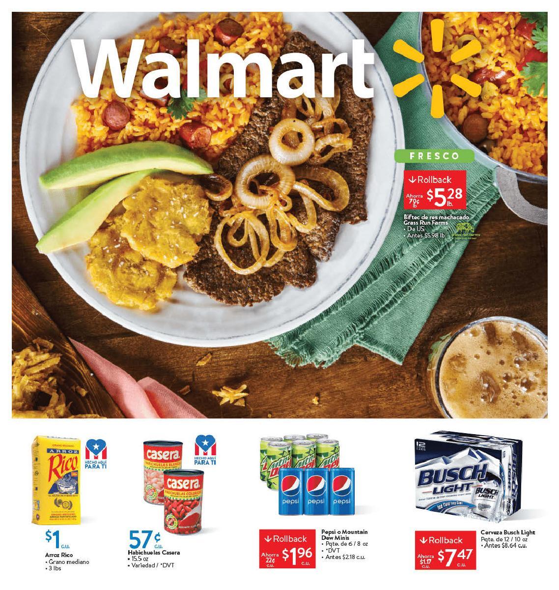 Shopper Walmart 19 de Febrero al 3 de Marzo de 2020