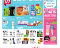 Shopper de Walgreens 22 de Marzo al 28 de Marzo de 2020