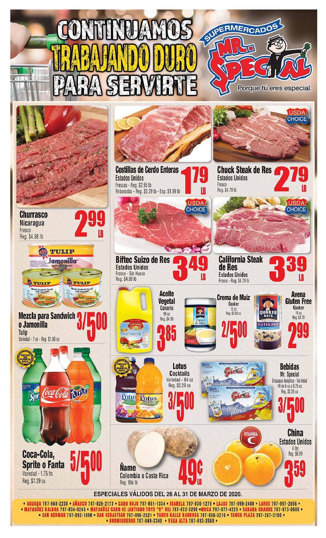 Shopper Mr Special 26 de Marzo al 31 de Marzo de 2020