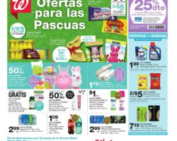 Shopper de Walgreens 5 de Abril al 11 de Abril de 2020