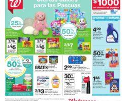 Shopper de Walgreens 29 de Marzo al 4 de Abril de 2020