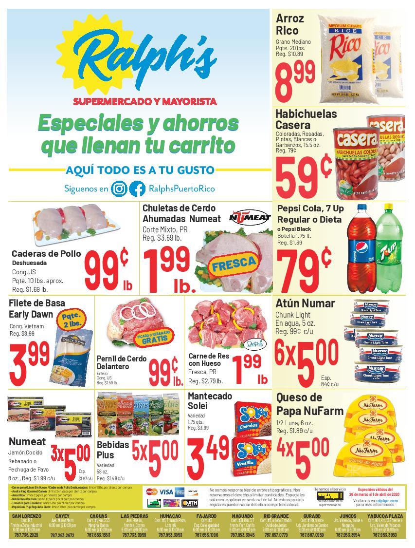 Shopper Ralph's 26 de Marzo al 1 de Abril de 2020