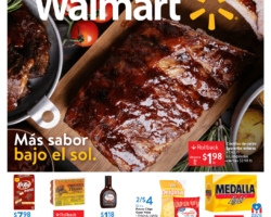 Shopper Walmart 22 de Mayo al 2 de Junio de 2020