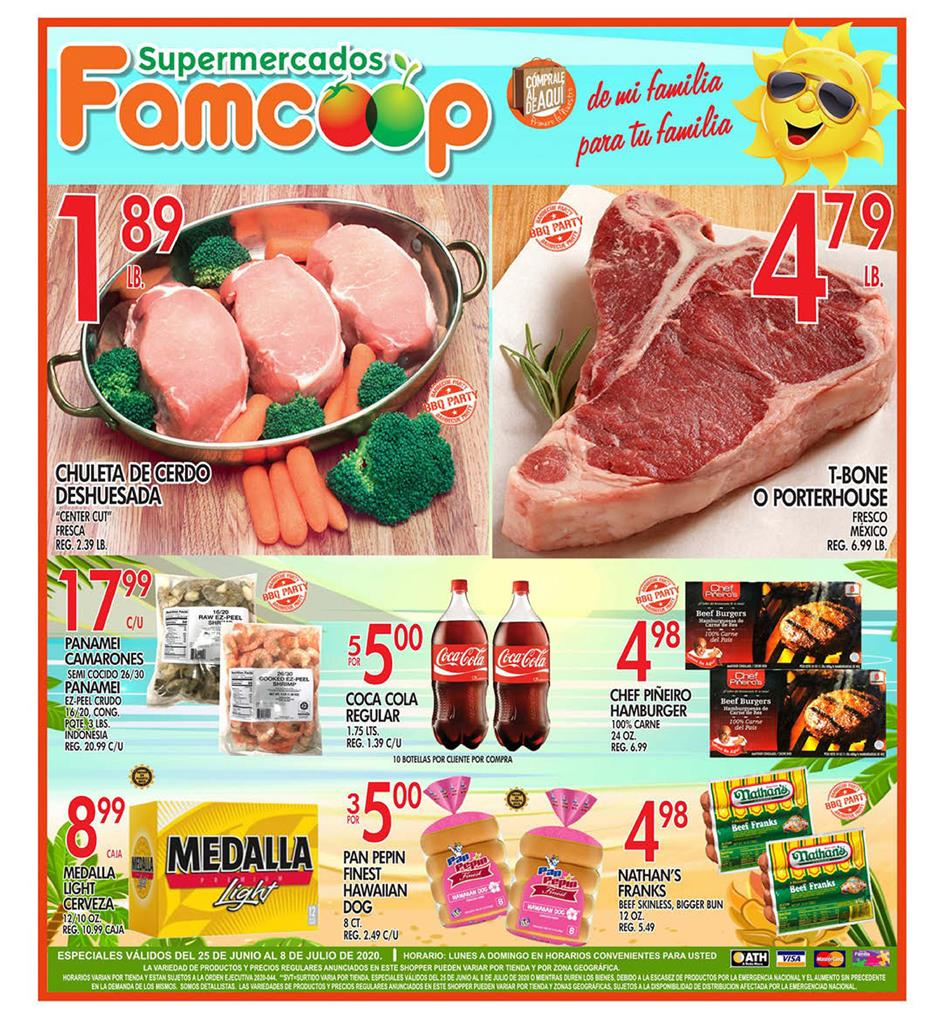 Shopper Fam Coop 25 de Junio al 8 de Julio de 2020