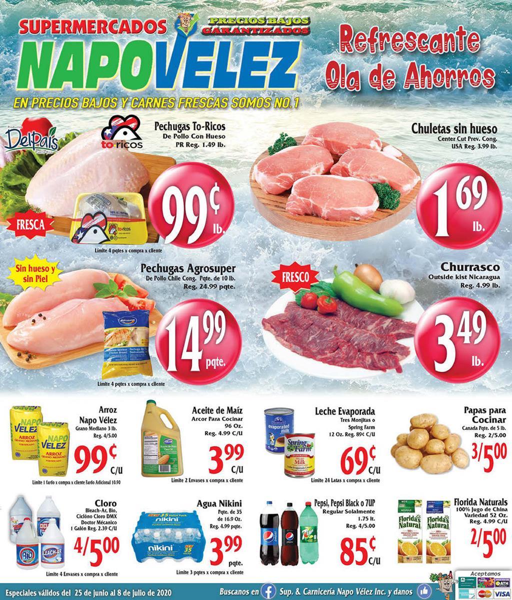 Shopper Napo Velez 25 de Junio al 8 de Julio de 2020