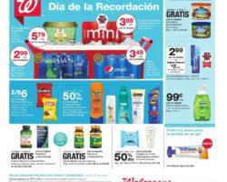 Shopper de Walgreens 24 de Mayo al 30 de Mayo de 2020