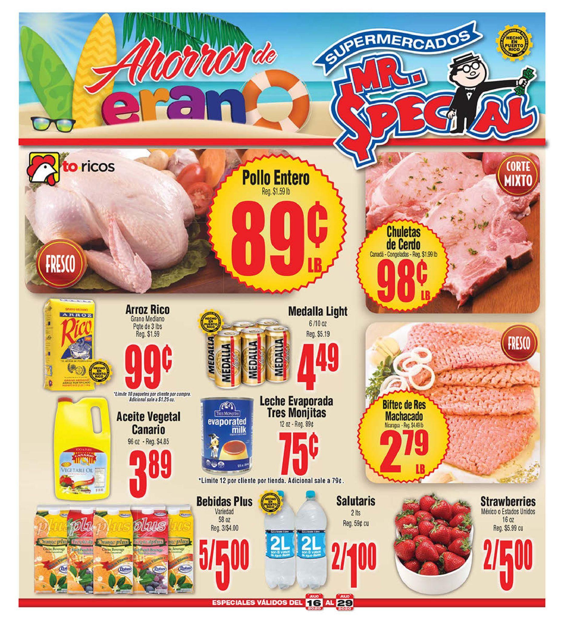 Shopper Mr Special 16 de Julio al 29 de Julio de 2020
