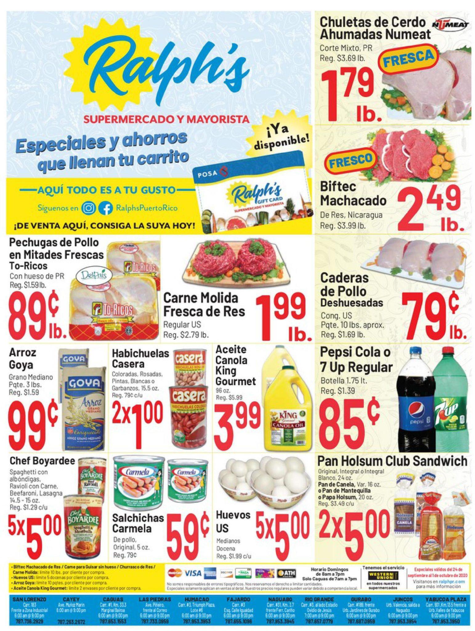 Shopper Ralph's 24 de Septiembre al 1 de Octubre de 2020