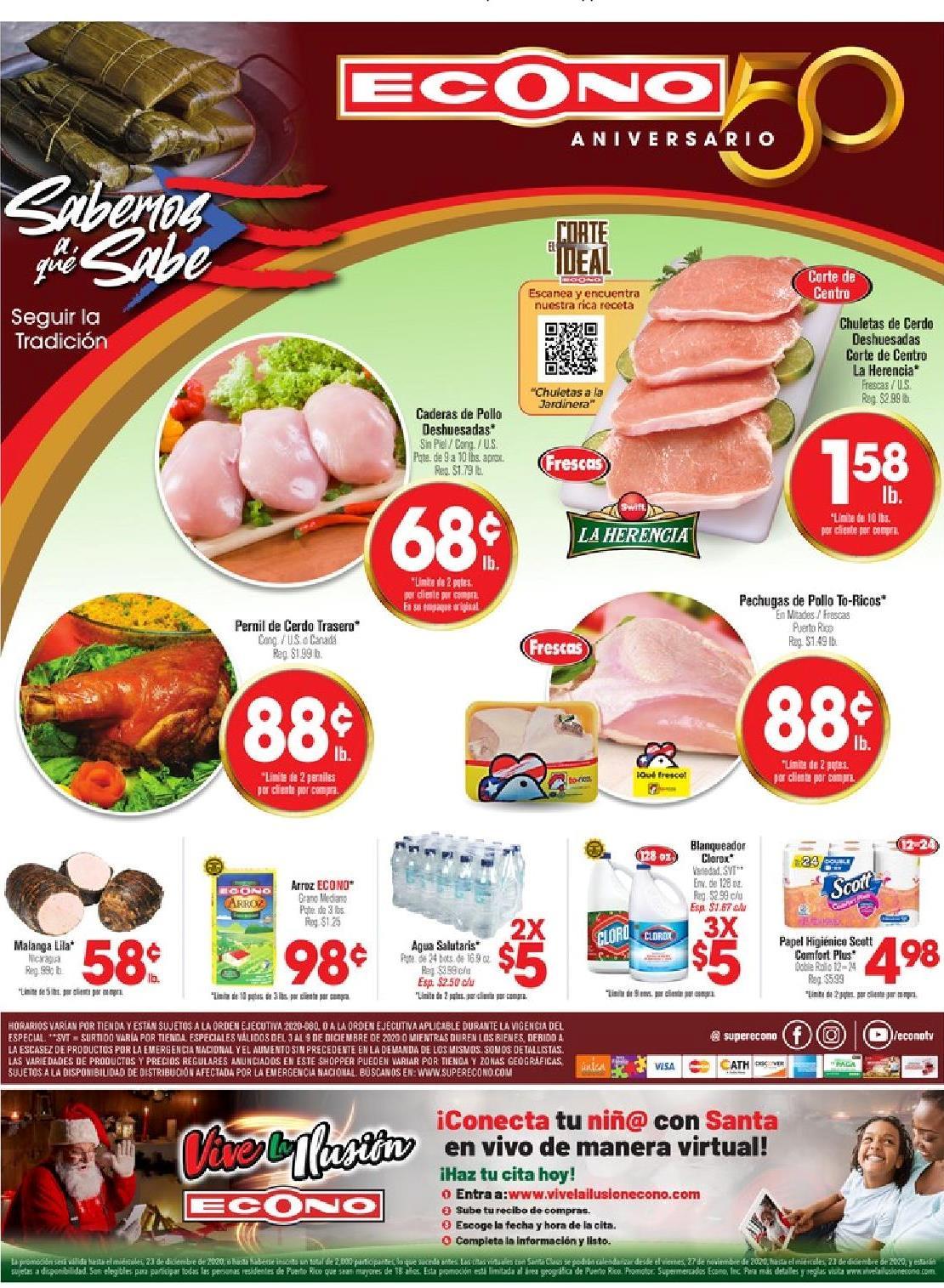 Shopper Econo 3 de Diciembre al 9 de Diciembre de 2020