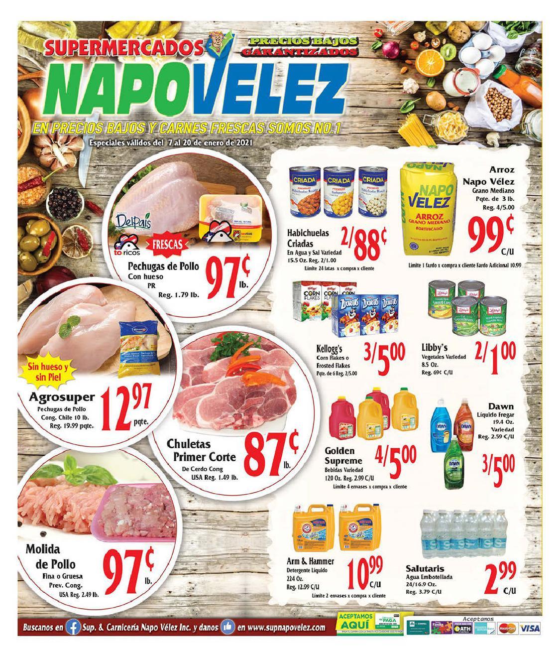 Shopper Napo Velez 7 de Enero al 20 de Enero de 2021