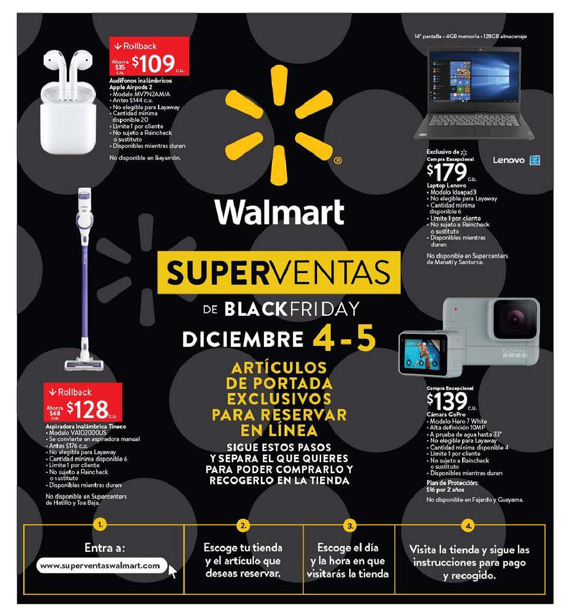 Shopper Walmart Black Friday 2020